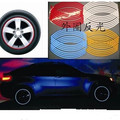 car styling 15-18 inch Wheel Rim Stripe Sticker for Audi all series A C S  SQ  RS-series Q3 Q5 SQ5 Q7 A1 A3 S3 A4 A5 A6 S6 A8 S8