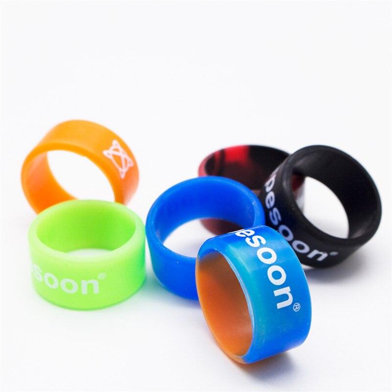 6pcs/lot Silicone Vape Band Ring Non Slip silicone ring for TFV12 TFV8 Big Baby decorative & protection rda rba atomizer kit