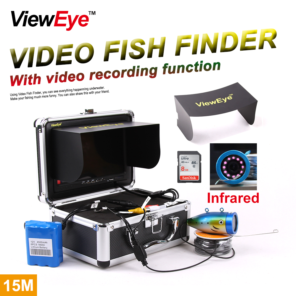 Buy vieweye original brand underwater ice for Underwater ice fishing camera