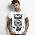 2017 marca t shirt hombres yeezy Camisetas de Los Hombres Cortos Manga camiseta homme hombres Del Verano Tops Tees T shirts Casual Para Hombre CDJLFH