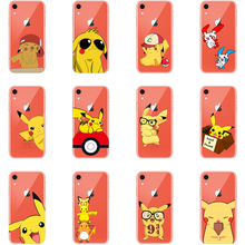 Pocket Monsters Pokemons Pikachus Soft TPU Phone Case for iPhone X 11 11PRO MAX 6 6S 7 Plus XS Max XR 8