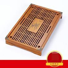 Kostenloser Versand Holz Teetablett Hochwertigem 43 cm * 28 cm * 6 cm Chinese Festen Tee-tablett Haushalt tee Bord Tee-set Kungfu Teasets