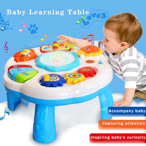 Image 4 - Baby Toys 13 24 Months Musical Games Table Educational M Toys For Baby Brinquedos Para Bebe Oyuncak Baby Boy Toys