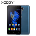 XGODY Mobile Phone 4G LTE Quad Core RAM 1GB ROM 8GB 5inches Smartphone Android 6.0 Cell Phone Unlocked With 8.0MP Camera