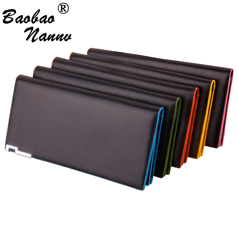 546a7e9ddbe6 Aliexpress.com   Buy Ultrathin Leather Long Wallet Men Purse Fashion Simple  Male Clutch Wallets Men Women Multi Cards Money Bag Pocket Super Thin from  ...