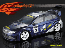 купить 1set IMRREZA WRX 10 WRC drift RC PC body shell 190mm width Transparent clean no painted drift body RC hsp hpi trax Tamiya дешево