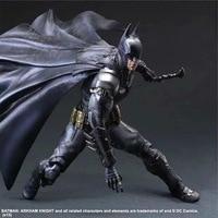 PLAY ARTS 27cm Batman: Arkham Knight Original Black Version Action Figure Model Toys
