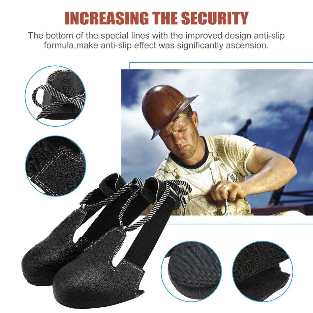 1 Para Anti-smashing Rutschfeste Unisex Stahl Kappe Sicherheit Schuhe Abdeckung Universal Sicherheit Industrie Schutzhülle Überschuhe Schwarz ZuverläSsige Leistung