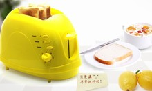 Free Shipping 2 Colors Option Bread Maker 2 Slices Household Toaster Defrost Reheat Function Single Bread Piece Toaster
