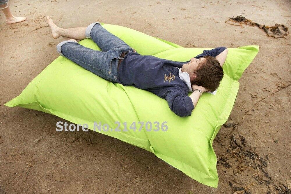 Желтый и зеленый открытый спальный стул, крытый отдыха погремушка диван