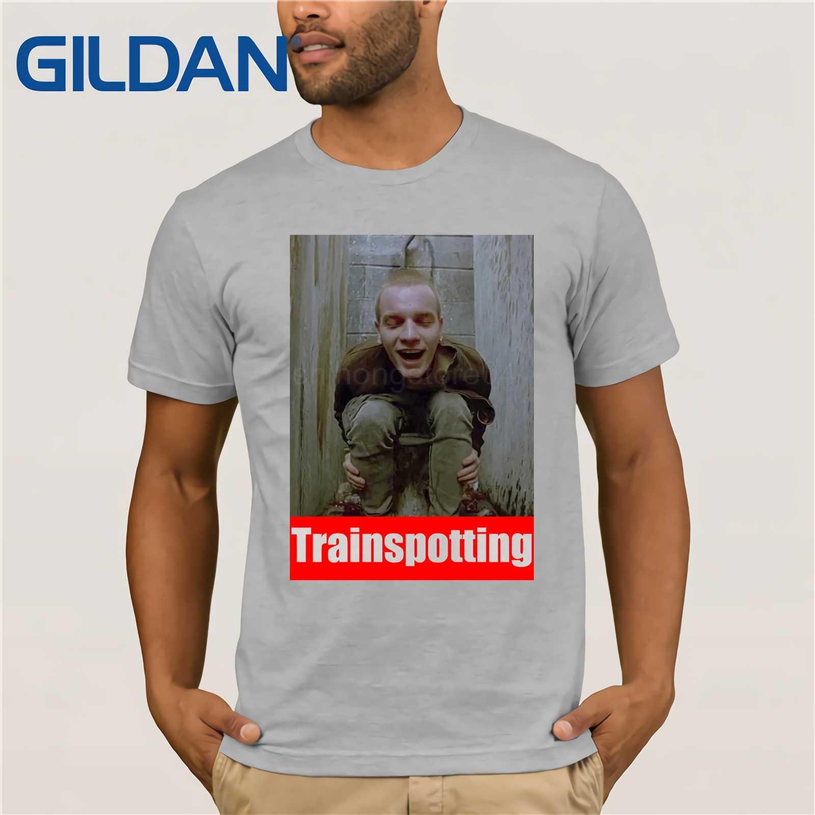 на игле юэн макгрегор забавные для мужчин футболка унисекс фильм рубашка модный