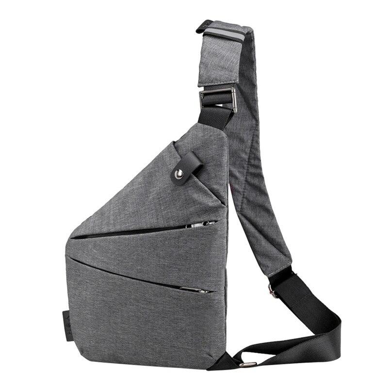 Aufstrebend Mode Brust Tasche Männer Frauen Sling Tasche Casual Leinwand Brust Anti Theft Umhängetaschen Hohe Qualität Schulter Taschen Brust Packs Perfekte Verarbeitung