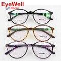 Свет ретро круглые TR90 оптически рамки дизайн в Корее очки для женщин моды очки 1637