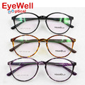 Light retro round TR90 optical frame design in Korea eyeglasses for women fashion eyewear 1637