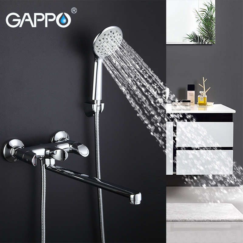 GAPPO shower Faucet bathroom taps wall mount Brass bathtub faucet mixer bath mixer sink faucet waterfall bathroom faucet gappo bathtub faucet bath shower faucet waterfall wall shower bath set bathroom shower tap bath mixer torneira grifo ducha