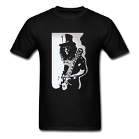 Funky Slash Rock Band Gun N Roses White Tees Shirt Man Organnic 100 Cotton Short Sleeve