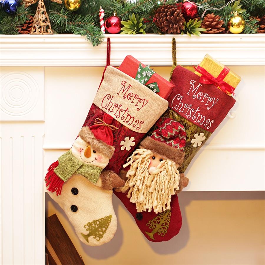 OnnPnnQ Merry Christmas New Hot Christmas Stocking For Kids ...