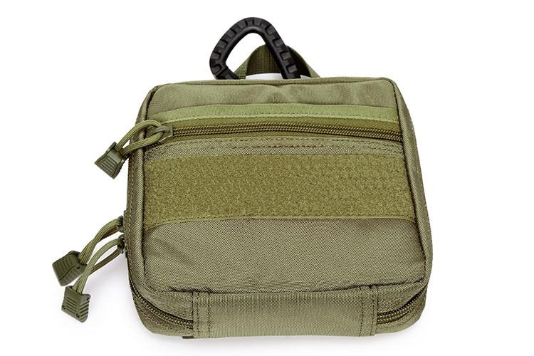 Prix pour 2017 Nouveau Molle 1000D Extérieur Poche Chasseur Taille Sac Pack tactiques Militaire D'utilité EDC Outil Sac Médical First Aid Pouch