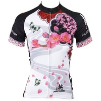 classic PALADIN summer style MTB women cycling jerseys short sleeve bike jersey tops bicycle clothing 5 colors