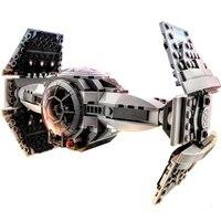 354pcs Bela Bricks Star Wars 10373 Force Awakens TIE Advanced Prototype Building Blocks Toys For Kids