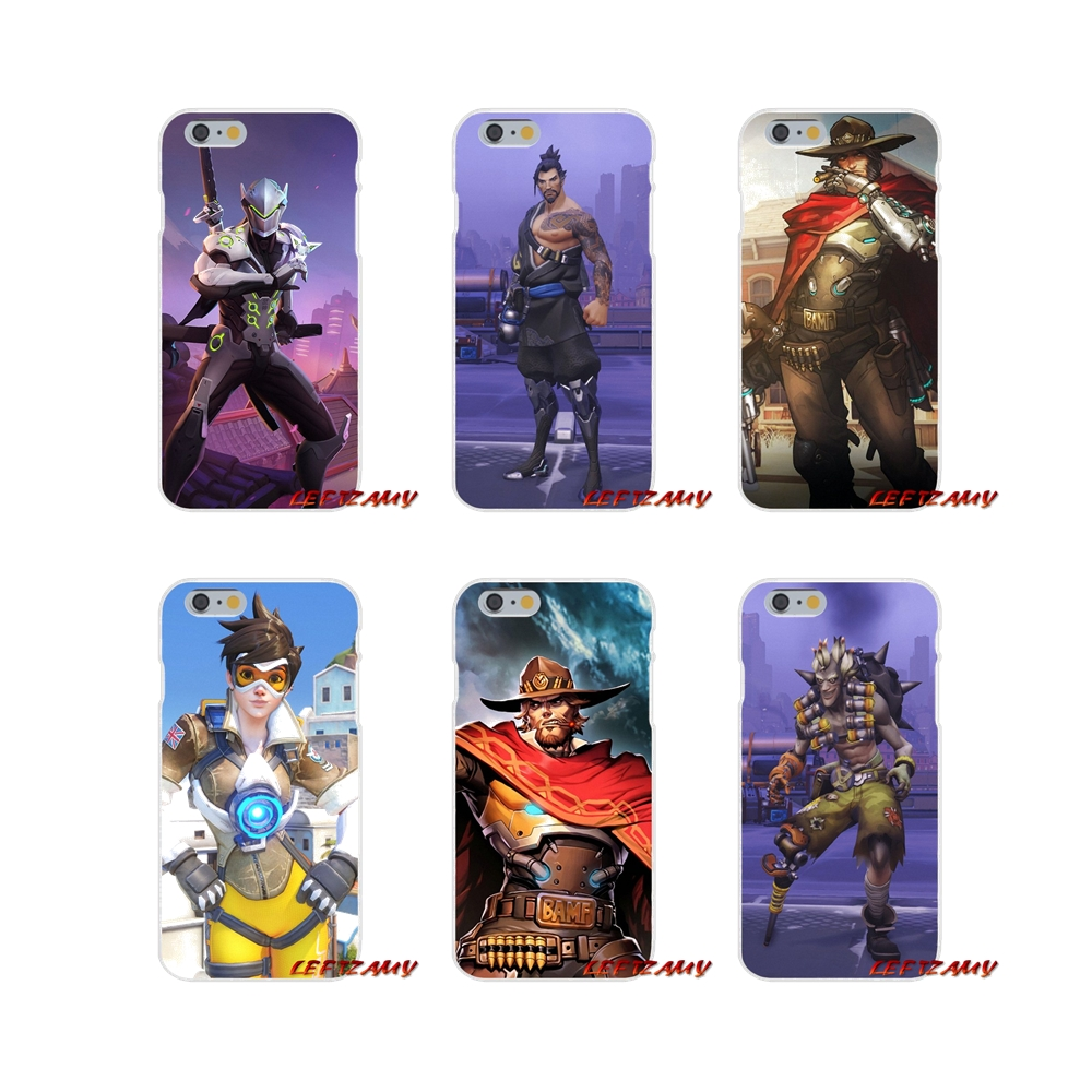 019d83a0a08c For Xiaomi Mi6 Mi 6 A1 Max Mix 2 5X 6X Redmi Note 5 5A 4X 4A A4 4 3 Plus  Pro Silicone Phone Cases Covers Fashion Game Overwatchs