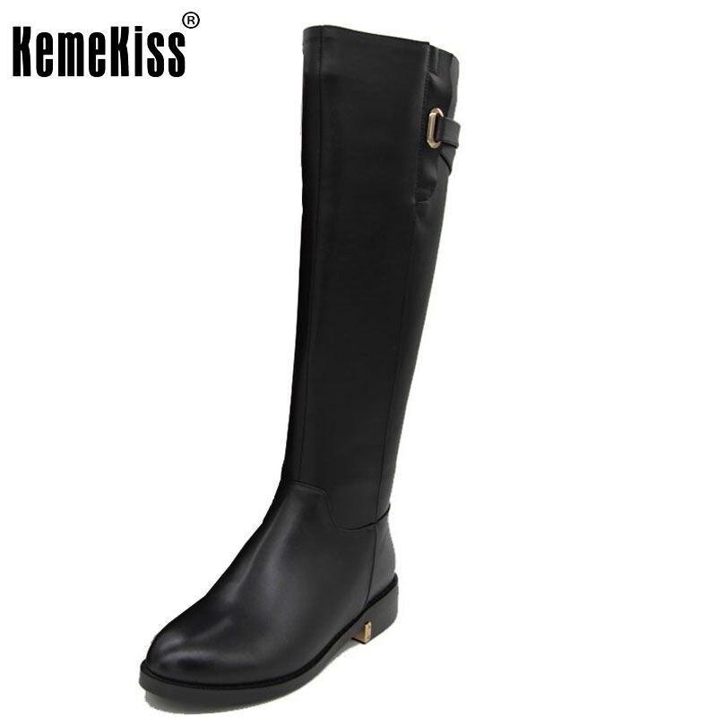 Теплая зимняя обувь выше колена для российской зимы натуральная кожа ботинки на низком каблуке женская зимняя обувь обувь ботинки размер ...