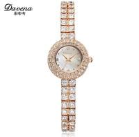 Korean Fashion Ladies Elegant Small Size Bracelet Watches Imported Quartz Crystal Dress Wristwatch Shell Analog Relojes