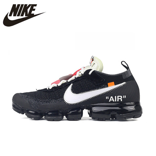 fc72c6e16c3 NIKE X Off White VaporMax 2.0 Authentic AIR MAX Breathable Men s Running  Shoes Sport Outdoor Sneakers AA3831 001 EUR Size M-in Running Shoes from  Sports ...