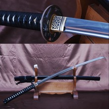 Fully Handmade Japanese Sword Vintage Samurai Katana Full Tang Folded Steel Clay Tempered 32768 Layers Blade Sharp Edge Knife