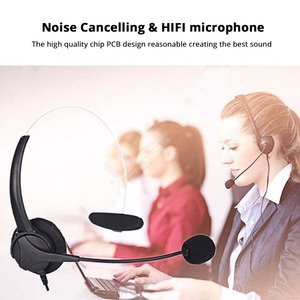 Image 3 - USB Earphones Handsfree Headphones With Mic Headset Noise Cancelling Adjustable Call For Gaming headset Computer Business Gamer