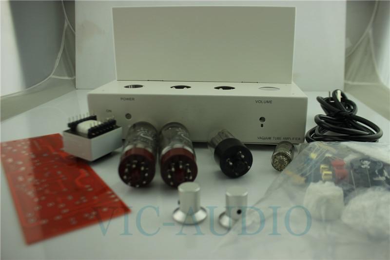 DIY EL34B Single Ended Tube Amplifier 5Z2P Rectifier 6N1 Tube Hifi Audio Vacuum Tube Pwer Amplifier kit 220V цена