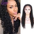 8A Malaio Cheia Do Laço Perucas de Cabelo Humano Para As Mulheres Negras Dianteira Do Laço sem cola Perucas Melhores Perucas de Cabelo Humano Com O Bebê cabelo