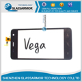 GlassArmor Brand New Touch Screen Original Para Explay Vega Digitador Sensor de Vidro Do Painel Frontal da Tela de Toque