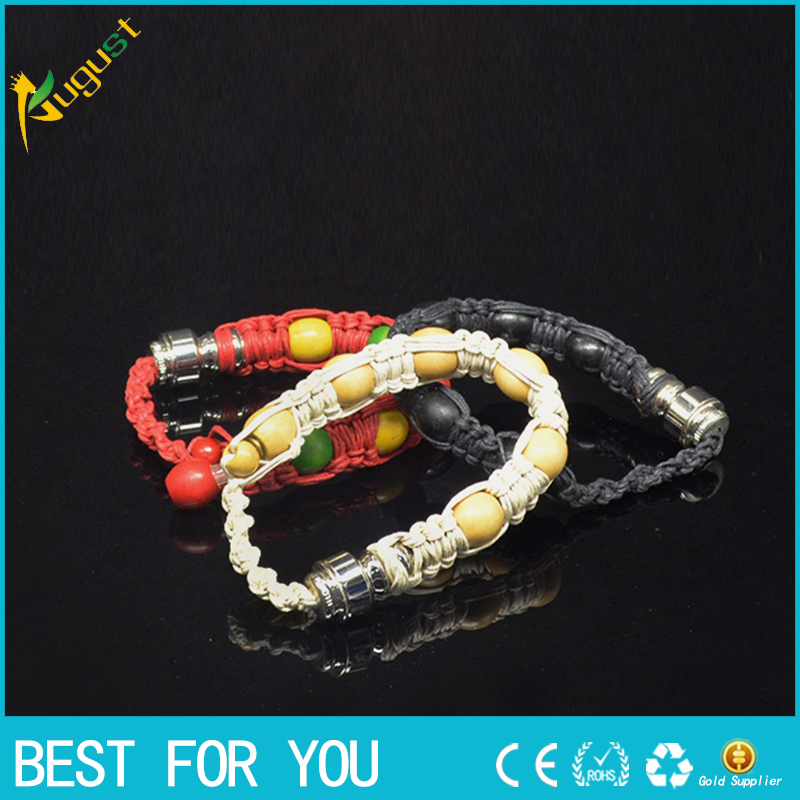 120pcs lot Best Selling stash bracelet pipe stash storage discreet smoking bracelet stealth pipe for click