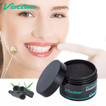 Vaclav Nature Activated Charcoal Teeth Whitening Powder Coconut Tooth Bamboo Oral Hygiene Stain Removal