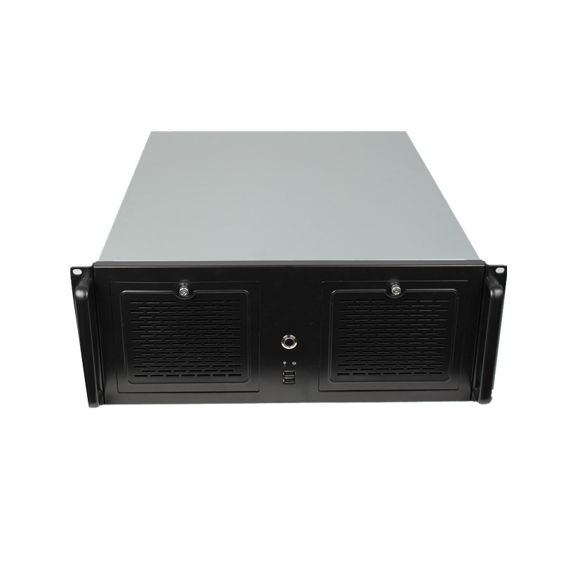 4U550 server computer case KTV Support  ATX board pc power supply 16 hard disk location HTPC Chassis new ultra short 3u computer case 38cm 8 hard drive pc large panel atx power supply 3u server industrial computer case
