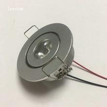 20pcs/lot  Mini LED Cabinet Spotlights 95-265v CREE Recessed Spot light Diameter 52mm Include Led Driver
