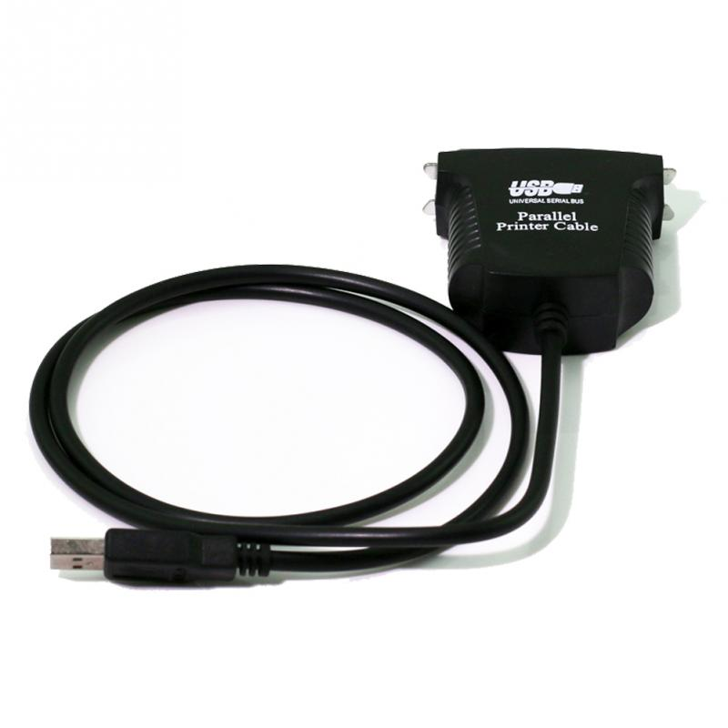 1M Printer Cable 36 Pin USB To Parallel IEEE 1284 Printer Cable For Computer PC Lead Adapter Laptop