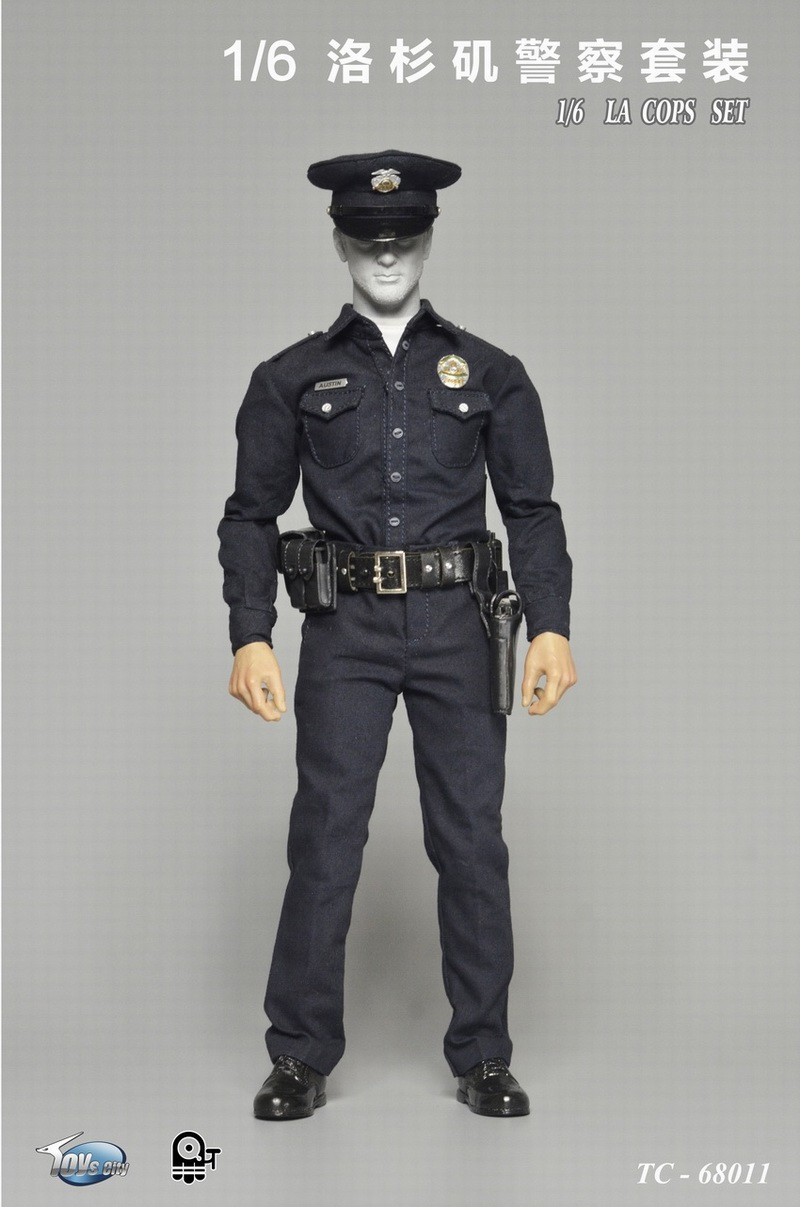 1/6 scale figure clothing accessory US police LA male cops clothes set for 12 Action figure doll,Not included body and head hot figures doll accessories pirp toys 1 6 batman police commissioner gordon inspector dresscode clothes set for 12 figure body