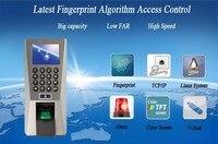 Отпечатков пальцев PIN Управление доступом посещаемости времени ZK F18 биометрические устройства доступа SYS био доступ ZK контроля доступа реше