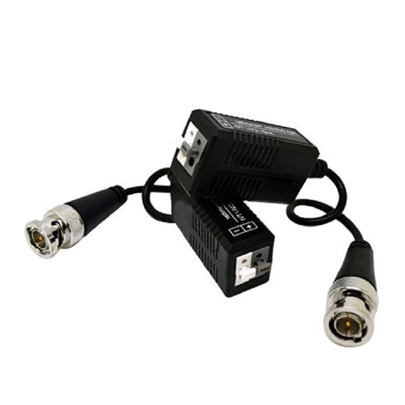 HD 720P 1080P CVI/TVI/AHD Passive Video Balun Male BNC to UTP Cat5/5e/6 For Security Ip Camera CCTV Via Twisted Pairs Adapter ...
