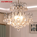2019 Luxury Crystal Chandelier Living Room Lamp lustres de cristal indoor Lights Crystal Pendants For Chandeliers Free shipping