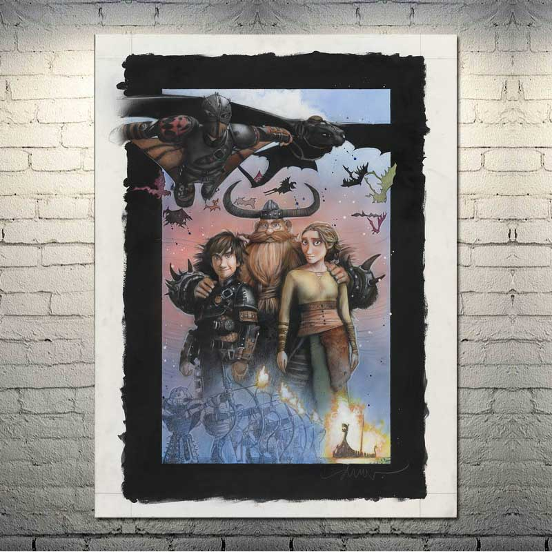 Game of thrones Movie 3 Art Silk Canvas Poster Print 13x20 24x36 inch Home Decor