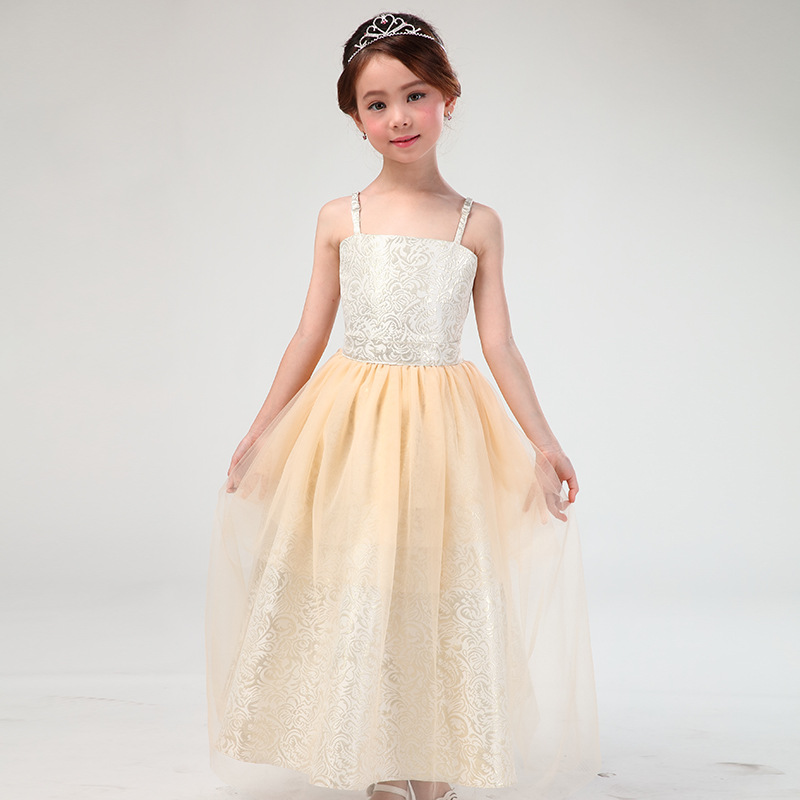 teenage little girl evening gown dress summer 2017 maxi long princess flower girls dresses for party and wedding long dress парфюмерная вода alan bray высший свет eclat d'etoile 50 мл