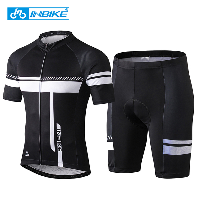 INBIKE 2018 Men Cycling Jersey Set Mountain Bike Clothing Short Sleeve MTB  Bicycle Clothes Wear Quick 0df2df1e2