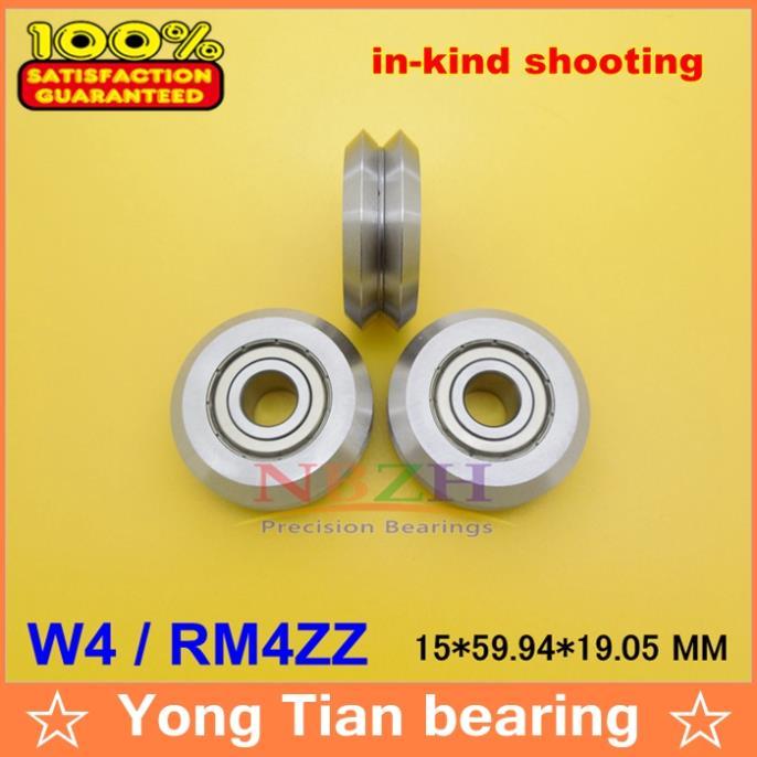 все цены на  RM4ZZ / W4 15*59.94*19.05 mm v wheeles W Groove Sealed Ball Bearing  онлайн