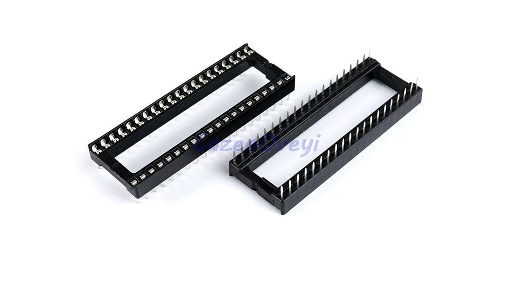 10pcs/lot IC Sockets DIP6 DIP8 DIP14 DIP16 DIP18 DIP20 DIP28 DIP40 Pins Connector DIP Socket 6 8 14 16 18 20 24 28 40 Pin