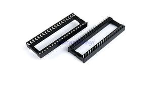 10pcs/lot IC Sockets DIP6 DIP8 DIP14 DIP16 DIP18 DIP20 DIP28 DIP40 pins Connector DIP Socket 6 8 14 16 18 20 24 28 32 40 pin