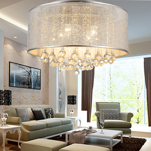Modern Brief Ceiling Light Crystal Lighting Fitting Led Living Room Lamp Bedroom