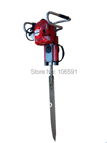 Gasoline Tree Root Cutter Move Planting Machine Cutting